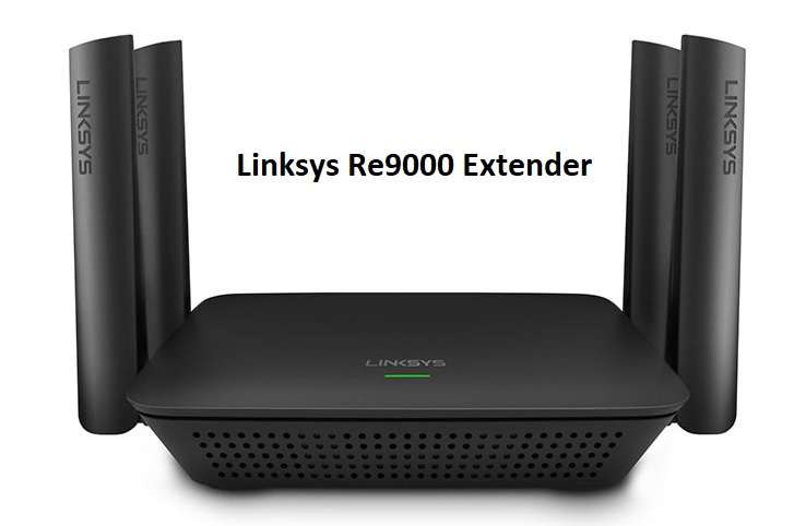 How to setup linksys re9000 wifi extender