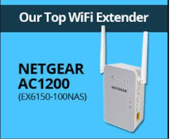 Netgear ac1200 WiFi range extender ex6150 setup
